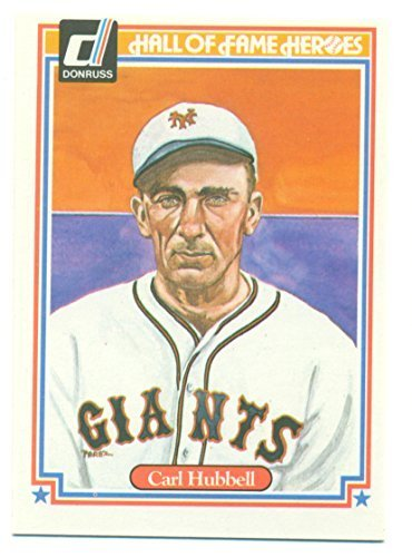 1983 Donruss Hall of Fame Heroes Carl Hubbell #33 - Baseball Card