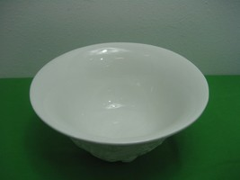 Vintage White Milk Glass Salad Mixing Bowl Made in Italy for Williams So... - $42.97