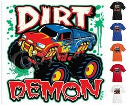 DIRT DEMON T-shirt Children Kids Unisex Girl Boy Funny KP184 - $12.99