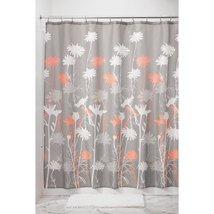 InterDesign Fabric Daizy Shower Curtain for Master, Guest, Kids', Colleg... - $17.83