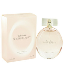 Sheer Beauty By Calvin Klein Eau De Toilette Spray 1.7 Oz For Women - $29.45