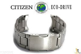 Citizen Eco-Drive AT8010-58B Original 23mm Stainless Steel Watch Band AT8060-50E - $189.95