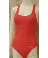 ZERACA Classic Luxury Style One Pc Swimsuit Diva Pink Womens Razorback S... - $14.40