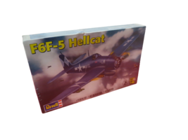 Revell F6F-5 Hellcat US Navy WW2 Carrier Fighter 1:48 85-5262 New Sealed - $34.65