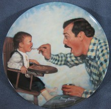Open Wide A Father's Love Collector Plate Betsy Bradley COA Vintage - $11.97