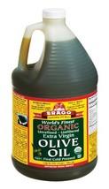 Bragg Organic Extra Virgin Olive Oil, 128 Ounce