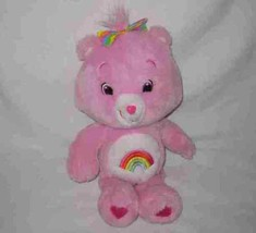 "Cute 16"" 2007 Care Bears CHEER BEAR Plush Stuffed - $19.24"