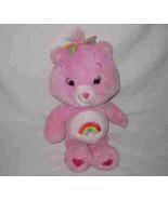 """Cute 16"""" 2007 Care Bears CHEER BEAR Plush Stuffed - $19.24"""