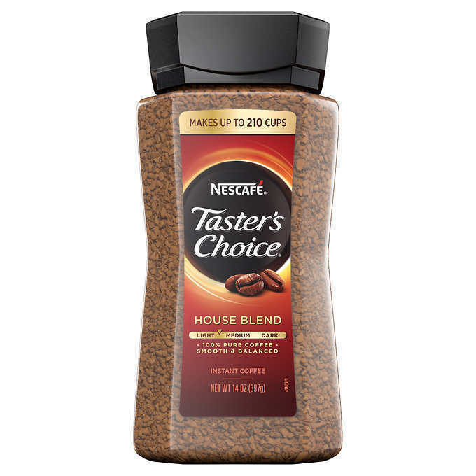NESCAFE Taster's Choice House Blend Instant Coffee (14 oz
