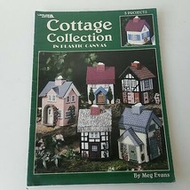 Cottage Collection In Plastic Canvas #1857 by Meg Evans - $11.63