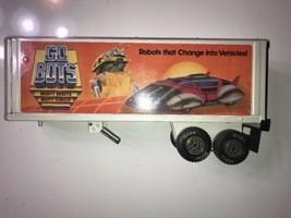 VINTAGE 1984 Tonka GOBOTS Steel Road Ranger Semi Truck Trailer Mighty Ro... - $37.39