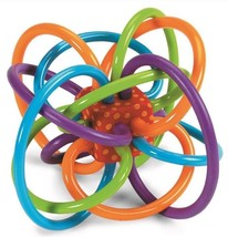 Manhattan Toy Winkel Rattle And Sensory Teether Newborn Baby Teething BP... - $11.29