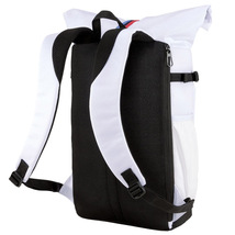 BMW M Motorsport Puma Roll Top Bag Utility Lifestyle Backpack 076897-01 image 7