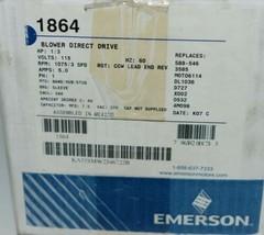 Emerson 1864 Direct Drive Blower Motor KA55SMW2346722 image 2