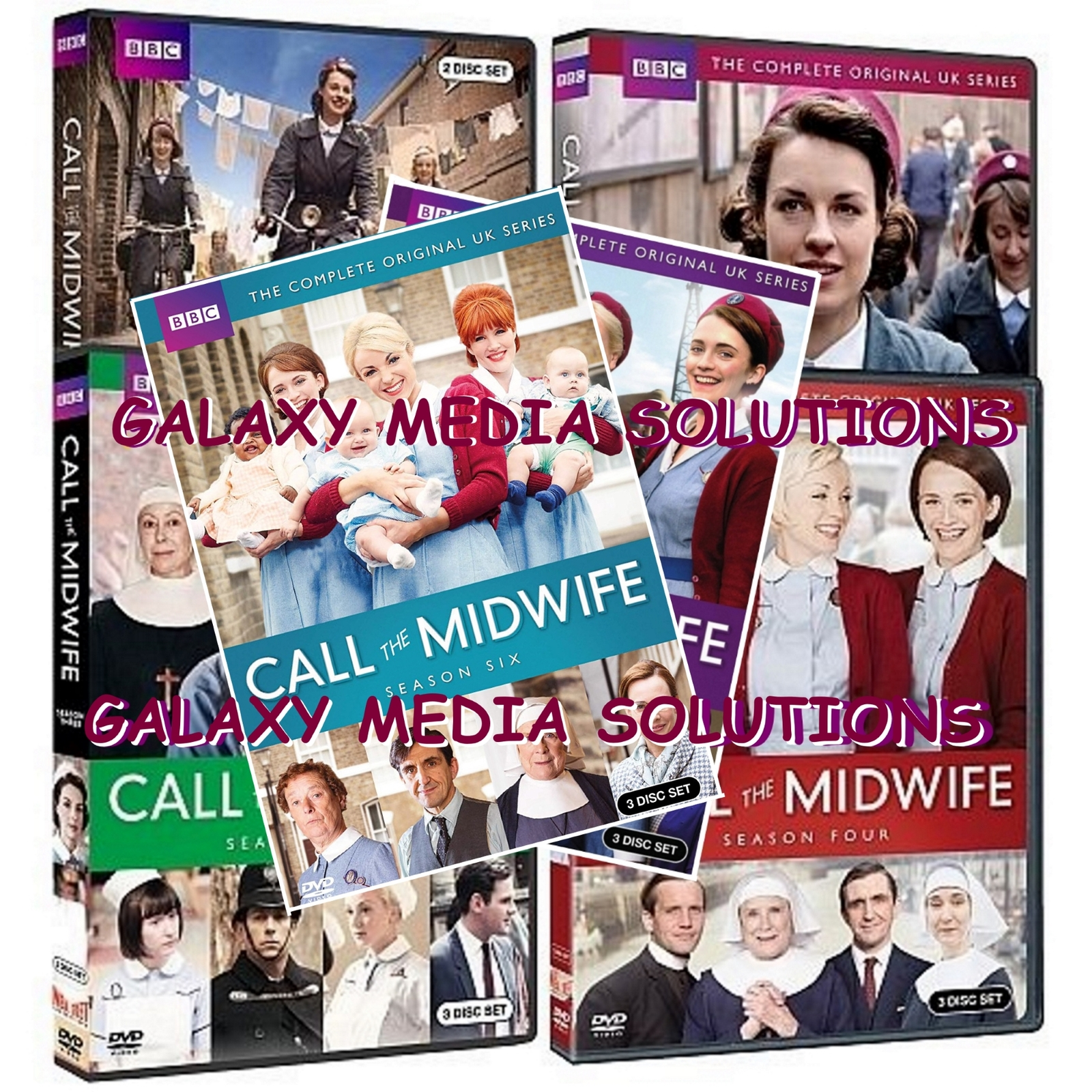 Call the Midwife Season 1-6 DVD Bundle (17-Disc) 1 2 3 4 5 6 NEW SEALED