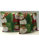 Set of 2 Christmas Toss Throw Pillows, Several Designs  - $27.98