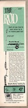 1960 Print Ad South Bend Power-Flex Fishing Rods Chicago,IL - $11.56