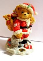Cherished Teddies, NICKOLAS, Christmas, Dressed as Santa w/COA - $16.63