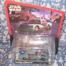 Disney Parks Pixar Cars 2014 Star Wars Weekend Chick Hicks As Boba Fett. New - $12.10
