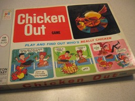 1966 Chicken Out Milton Bradley Complete In Box Vintage Game Looks Unplayed RARE - $74.99