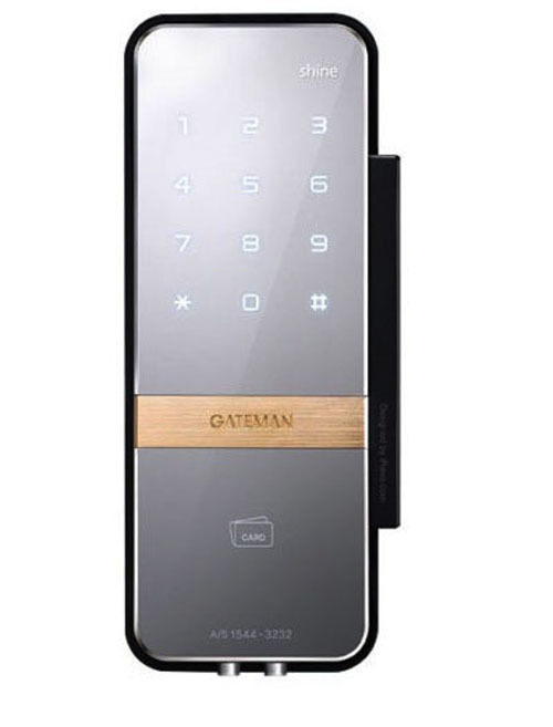 Gateman Shine  Digital Door lock Scan type keys fingerprint One Touch Doorlock