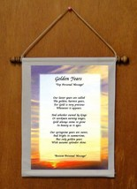 Golden Years - Personalized Wall Hanging (158-1) - $19.99