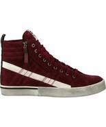 Diesel Women's D-Velows Mid Lace Y01846 Sneakers Burgundy EUR 38 - $102.52