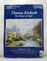 Candamar Designs Thomas Kinkade Lamplight Brooke Cross Stitch Kit - NEW ... - $18.95