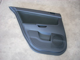 2010 MITSUBISHI LANCER BLACK LEFT DRIVER SIDE REAR DOOR TRIM PANEL