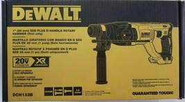 DEWALT DCH133B 20V 1'' SDS PLUS D-HANDLE BRUSHLESS ROTARY HAMMER, Tool O... - $134.99