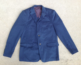 IKE BEHAR Men' Blazer, Navy, Size 38 - $39.59