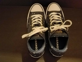 NEW Converse CTAS Navy Denim Polka Dot Madison Womens  Sneakers  Sz 7 US - $49.84 CAD