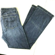 Gap 1969 Long Lean Boot Cut 34 x 36 Denim Jeans 33/16xl Dark Wash Zipper Fly - $35.61