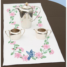 "Jack Dempsey Stamped Table Runner/Scarf 15""X42""-Birds - $9.84"