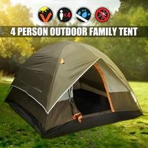 Camping Hiking Tent Sleeps 4 All Season Waterproof image 1
