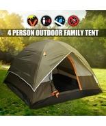 Camping Hiking Tent Sleeps 4 All Season Waterproof - $80.00