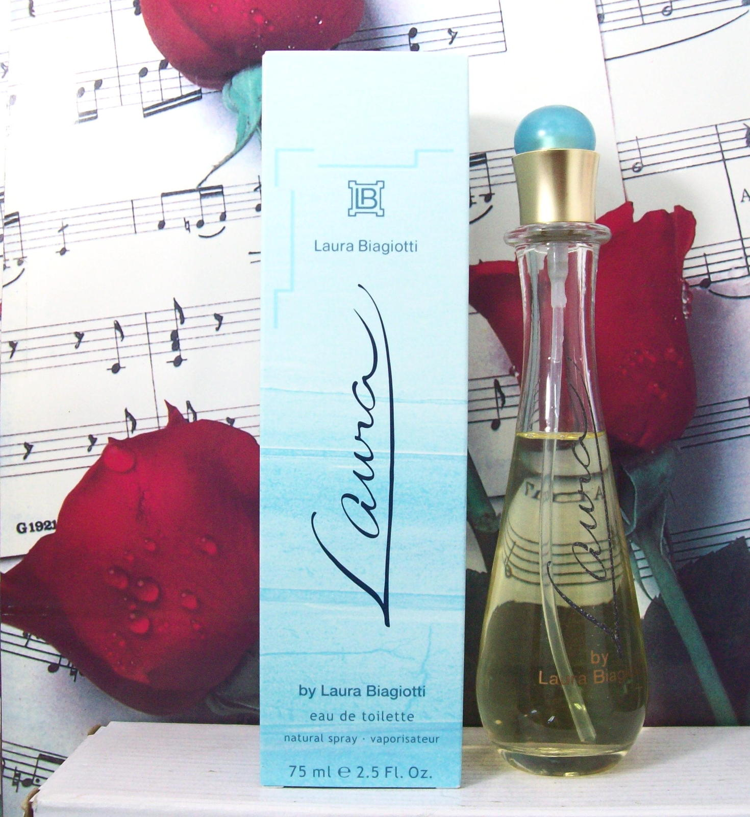 Primary image for Laura By Laura Biagiotti EDT Spray 2.5 FL. OZ. NWB