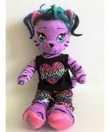 "Build A Bear Honey Girls Teegan 20"" Purple Tiger - $22.43"