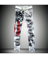 2018 New Arrival Fashion Autumn and Winter Men's Printing American Flag ... - $30.60