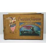 Very Interesting WWII Photo Scrap Book Stewart Hyland Lakehurst ME+Ship ... - $92.57