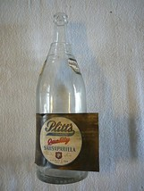 1920'S G.F. PLITT & SON, YORK, PA, SARSAPARILLA BOTTLE, ORIGINAL LABEL - $18.69