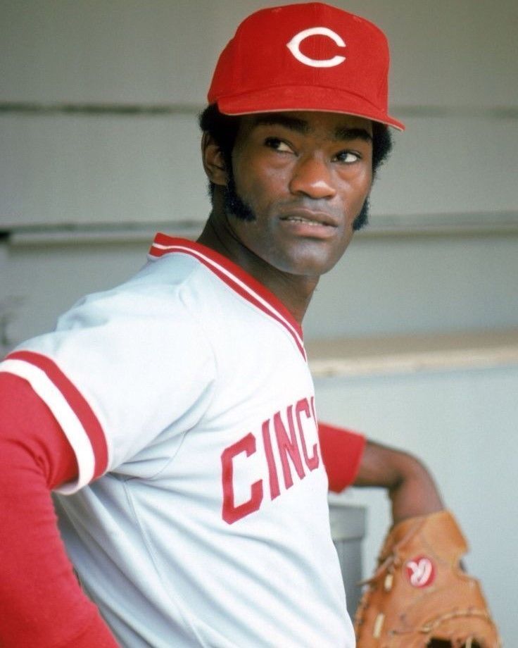 GEORGE FOSTER 8X10 PHOTO CINCINNATI REDS BASEBALL PICTURE MLB