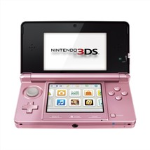 Nintendo 3DS Pearl Pink Handheld Wi-Fi Game System with Multi Camera Rep... - $239.99