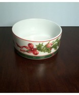 Lefton China~ Holiday Candy Dish 1990 Holly (07674) - $3.96