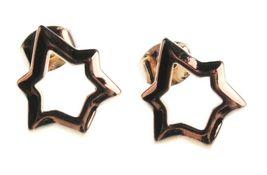 Nuevo Edison 14K Chapado en Oro Brillante Stars Tuerca Pendientes Nwt image 3