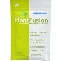 Plantfusion Cookies N Cream Packets - Case of 12 - 30 Grams - $37.99