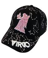 Zodiac Horoscope Sign Adult Size Adjustable Baseball Caps (Virgo) - $12.95