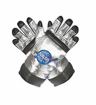 Underwraps Kid's Children's Astronaut Gloves Costume - Silver Childrens ... - £15.58 GBP