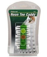 Neon Tee Caddy Green 12 Golf Tees and 3 Golf Ball Markers - $9.80