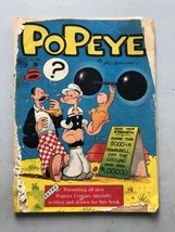 Popeye (1948-84 Dell/Gold Key/King/Charlton) #1 Cover Detatched - $74.25